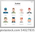 Avatar icons gradient pack 54027835