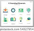 E-Learning icons gradient pack 54027954
