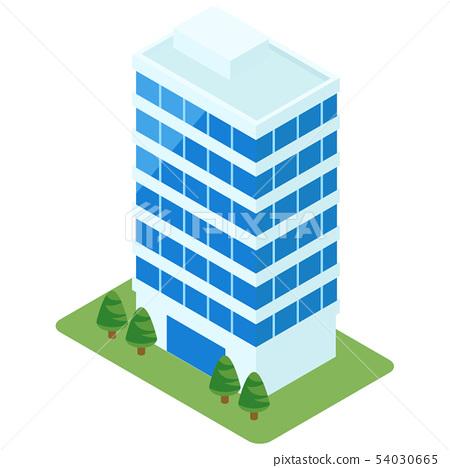 一座摩天大樓 54030665