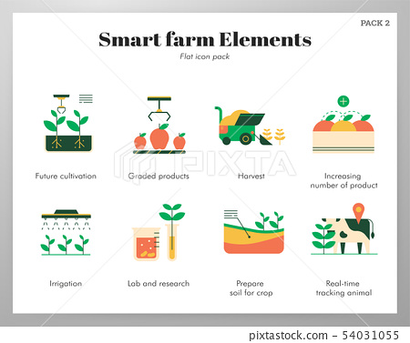 Smart farm elements flat pack 54031055