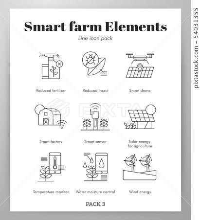 Smart farm elements Line pack 54031355