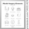 Plastic surgery elements Line pack 54031429