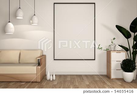 mock up living room decoration japanese 54035416
