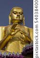 Giant Golden Buddha Statue at Golden Temple of Dambulla in Sri Lanka 54038400