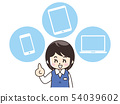 Office Lady Smartphone平板電腦 54039602