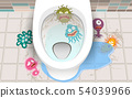 disease in the toilet room 54039966