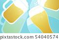 배경 - 맥주 - 건배 - 블루 54040574