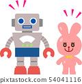 복고풍 장난감 로봇 54041116