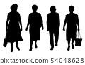 Senior women walking 54048628