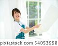 주부 집안일 세탁 앞치마 54053998