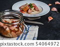 Czech pickled sausages 54064972