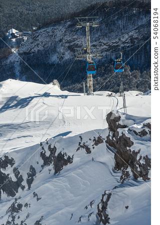 中國麗江玉龍雪山 中国観光スポット China Jade Dragon Snow Mountain 54068194
