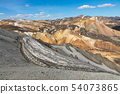 Landmannalaugar National Park - Iceland. Rainbow 54073865