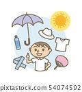 夏季中暑門診測量男性 54074592