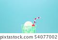 배경 - 여름 - 크림 소다 - 블루 54077002