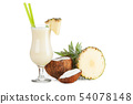Pina Colada Cocktail 54078148