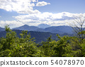 Landscape with Mount Fuji seen from the summit of Takao 54078970