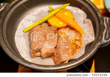 烤肉鳥取和牛牛肉 54079299