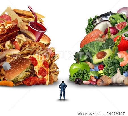 Diet Lifestyle Choice 54079507