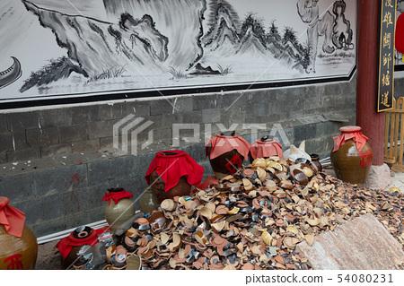 中國雲南麗江觀音峽 Scenic Spots in China 麗江第一景 茶馬古道 玉龍關入口 54080231