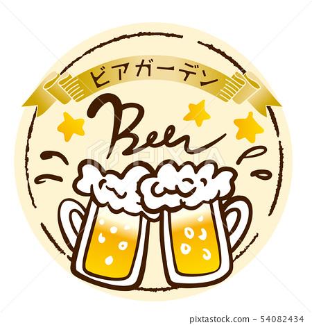 啤酒標記 54082434