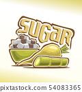 Vector logo for sugar 54083365