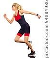 Running, Woman, Triathlon 54084986