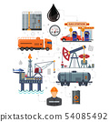 Oil Industry Infographics 54085492