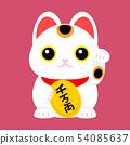 Beckoning cat 54085637