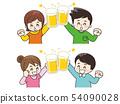 ชายหนุ่มและหญิงปิ้งกับเบียร์ 54090028