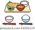 烤三文魚套餐 54090124