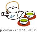 ชาเขียวและกาน้ำชา 54090135