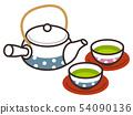 ชาเขียวและกาน้ำชา 54090136