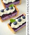 藍莓稀有芝士蛋撻切(高角度) 54092622