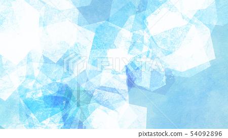 背景 - 夏 - 冰 - 藍 54092896