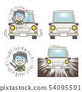 노인 운전자의 위험 운전 54095591