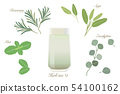 Herbal tea set ・ cold glass 54100162