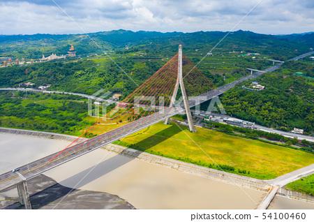 台灣高雄高屏溪斜張橋Kaohsiung Bridge, Asia, Taiwan 54100460