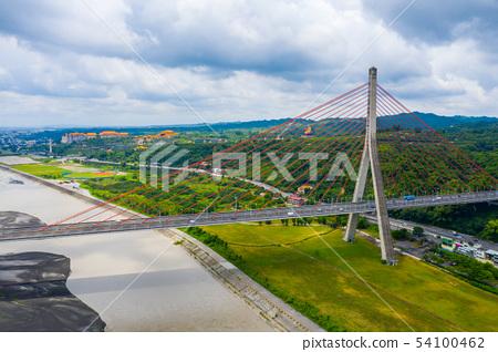台灣高雄高屏溪斜張橋Kaohsiung Bridge, Asia, Taiwan 54100462