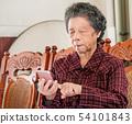 老人 奶奶 手機 科技 生活方式 社交媒體 elderly smartphone お婆さん スマホ 54101843