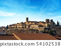 Cityscape of Colle di Val d'Elsa - Tuscany Italy 54102538