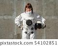 astronaut, woman, female 54102851
