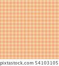 체크 무늬 (오렌지 계열) 패턴 54103105