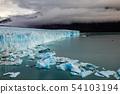 Glacier Perito Moreno National Park in autumn. Argentina, Patagonia 54103194