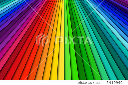 Brightly colored abstract background spectrum 54109404