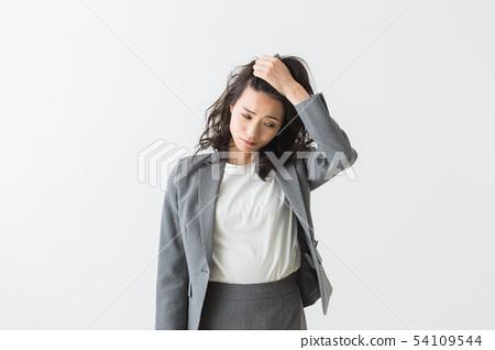 여성의 피로 스트레스 54109544