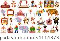 Large theme circus set 54114873