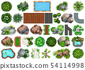 Set of garden decoration 54114998