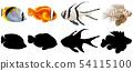 Set of saltwater Fish 54115100