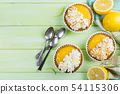 Lemon meringue mini pies 54115306